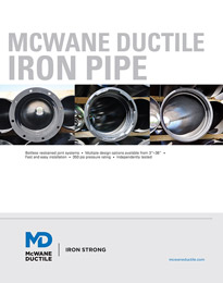 McWane Ductile Iron Pipe Catalog